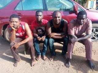 Police Nab Car Snatching Syndicate In Benue State