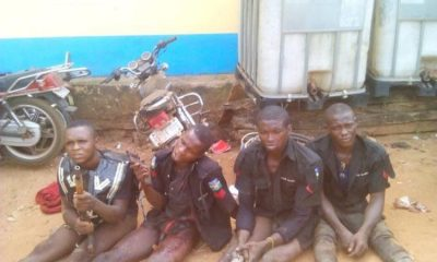 Police Smash Armed Robbery Gang Dressed In Police Uniforms