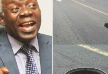 Human Right Lawyer, Femi Falana, Files N100m Lawsuit Against FG After Breaking His Leg In A Manhole He Fell Into In Abuja