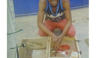 Man Arrested With Charms Inside Lagos Restaurant