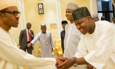 President Buhari Felicitates With Yakubu Dogara At 50