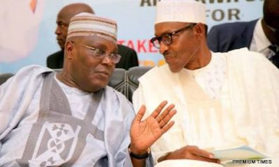 Reno Omokri Declares Atiku The Real Leader After Comparing Birthday Photos Of Atiku And Buhari
