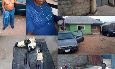 Men Who Abducted A 76-Year-Old And Demanded N80m Ransom, Arrested, Victim Rescued