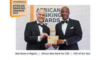 GTBank Wins Nigeria's Best Bank & Africa's Best Bank For CSR At EMEA Finance Awards; MD Named CEO Of The Year