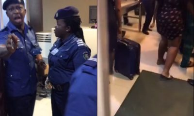 Lagos Airport Official Allegedly Assaults Traveler Who Refused To Give Her Xmas Gift .