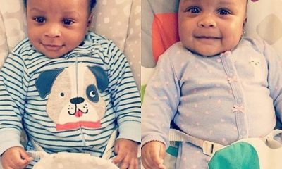 Paul Okoye And Wife Dedicate Twins