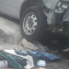 Graphic Photos: Man Crushed To Death In Obalende