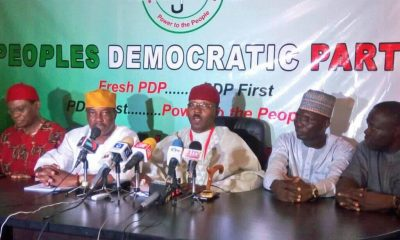 """Fresh PDP, The Authentic PDP"": New Party Breaks Out Of PDP"