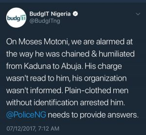 """Unarrested"" Man Granted Bail By Nigerian Police"