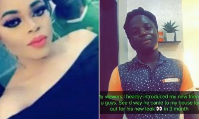 Bobrisky Sacks Celebrity Gateman Jacob, Introduces New One 'Titus'