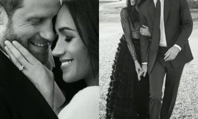 Check Out These Intimate Engagement Portraits Of Prince Harry And Meghan Markle