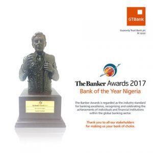 GTB Named Bank Of The Year At Banker Awards