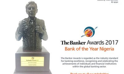 GTB Named Bank Of The Year At Banker Awards