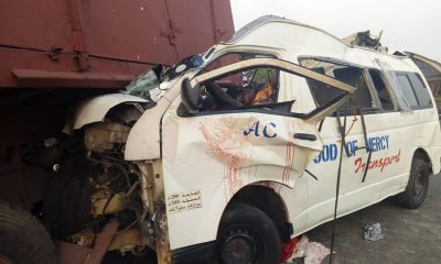 Ghastly Accident On Lagos-Benin Road:
