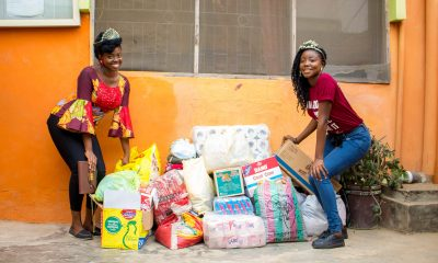 JustFlaky International Foundation And LASUCOM Hold Christmas Party At Orphanage