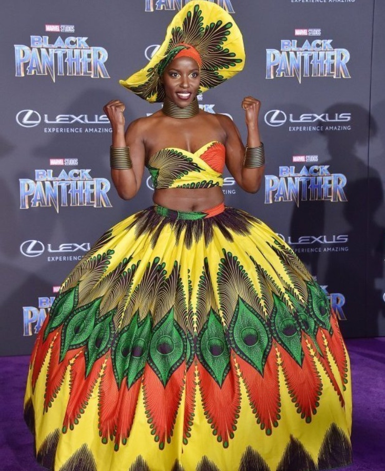 Last Night Was The Black Panther Premiere And It Was: PHOTOS: Actors Go Cultural For Black Panther Premiere