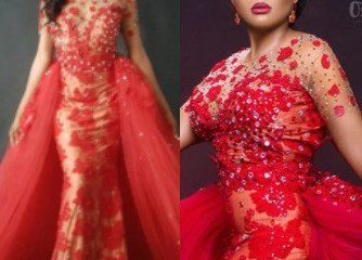 Wedding Reception Dress Controversy: Photos Of Model In The Dress Surfaces