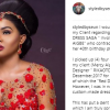 Mercy Aigbe's Stylist Takes Responsibility For The Mistake In The Red Dress Scandal