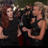 Debra Messing and Eva Longoria call out E! for wage inequality during E! interview on red carpet