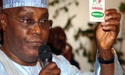 """Only PDP Can Take Nigeria To Posperity"": Atiku"