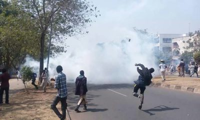 Police Teargas Protesting Shiite Members In Abuja