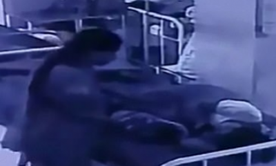Shocking Moment Woman Snatches Newborn Baby As He Slept Beside His Mother In Hospital Maternity Ward