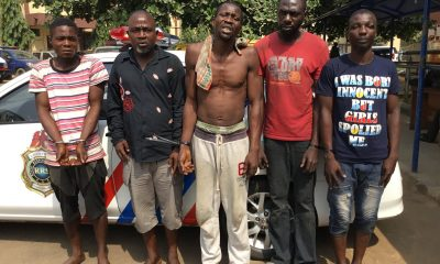 5 Arrested Over New Year's Eve Robbery