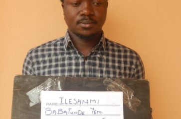 EFCC Arrests Ekiti State University Undergraduate For Cyber Fraud