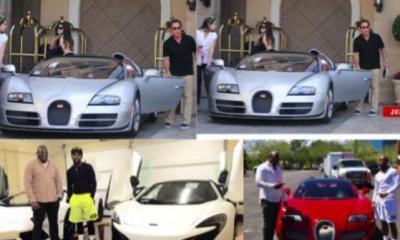 Nigerian Auto Dealer, Obi Okeke buys Arnold Schwarzenegger's Bugatti for $2.5m