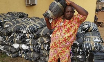 Police Arrest Man With 114 Bags Of Cannabis