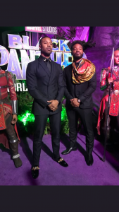 PHOTOS: Actors Go Cultural For Black Panther Premiere