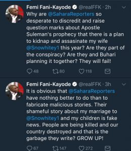 FFK Debunks Rumours About His Marriage Crashing
