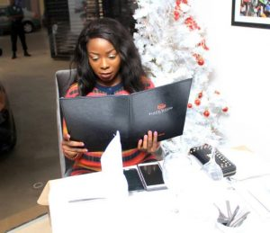 Blackwood Bar And Restaurant Hosts Bodex Media MD, Florence HungboTo A Sumptuous Meal