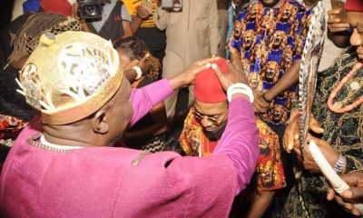 Dbanj Conferred With Traditional Title in Imo