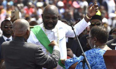 George Weah Sworn In Liberia As President