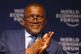 Aliko Dangote Remains Africa's Richest Man For The Seventh Consecutive Year
