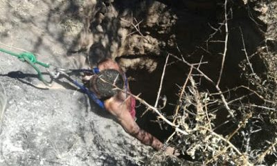 Two Men Brutally Beaten And Thrown Into Deep Well In South Africa: Photos