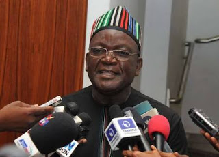 Benue State Governor, Samuel Ortom Accuses Defence Minister Of Being Part Of A Conspiracy To Hijack Land And Give To The Fulani Herdsmen