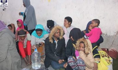 186 Illegal African Migrants Waiting To Be Smuggled To Europe Detained By Libya Police