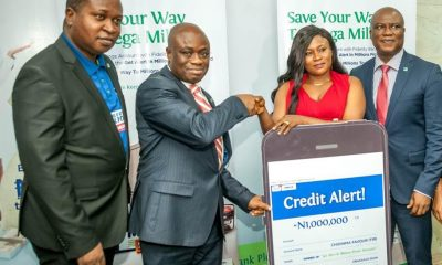 Fidelity Bank Plc Presents Prizes To Winners That Emerged At The Third Draw Of The Get Alert In Millions Promo Reloaded
