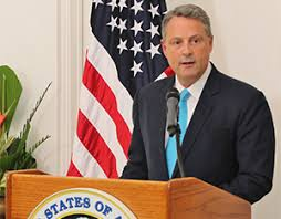 John Feeley US Ambassador To Panama Resigns From Trump Administration