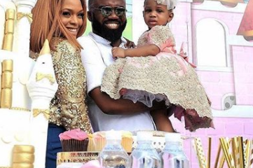 Photos From Noble Igwe's Daughter, Jasmine's One Year Birthday Party