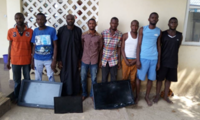 Police Arrest 8 Notorious Armed Robbers That Specialise In Car And House Robberies In Abuja