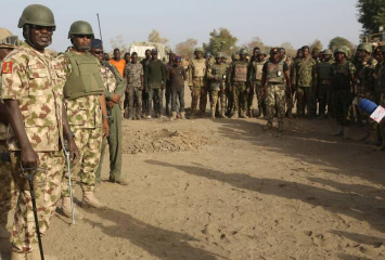''Get Shekau Dead Or Alive'' Army chief, Lt. Gen Tukur Buratai Charges Troops