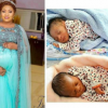 80-Year-Old Alaafin Of Oyo And One Of His Wives Welcome A Set Of Twins