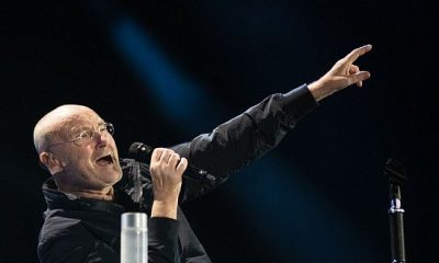 Phil Collins Returns To The Stage, Performs From His Chair