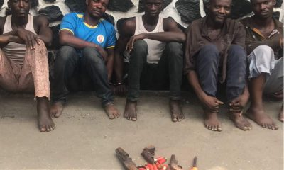 Police Arrests Ex-Convict For Robbery