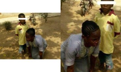 Female Begger Who Pretends To Be Blind Arrested In Ondo State