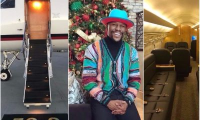 Boxer Floyd Mayweather Buys Himself A Jet For His Birthday (Photos)