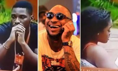 #BBNaija: Davido, Noble Igwe Reacts To Tobi Always Begging Cee C In The House